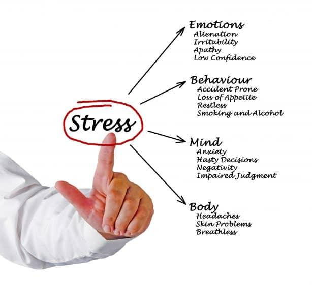 stress conseguenze